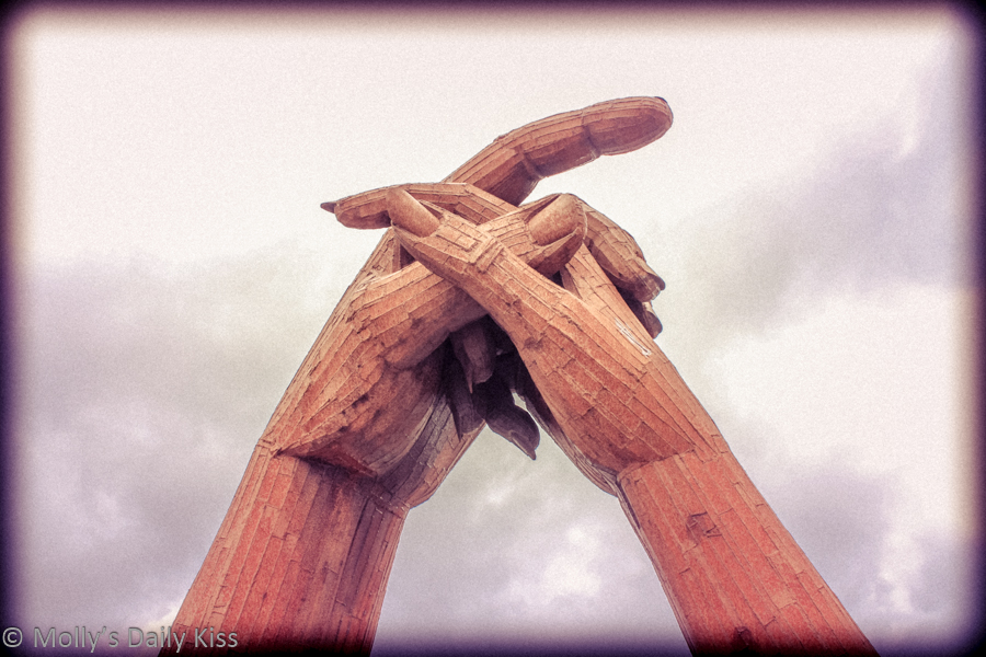 Hand Sculpture Gretna Green